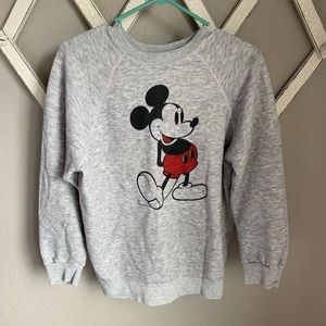Disney Vintage Mickey Mouse Adult Large Crew Neck